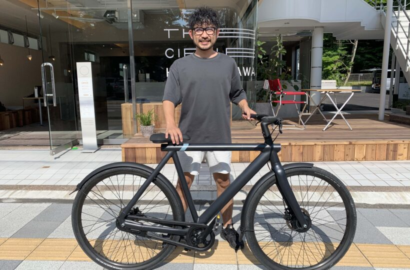 おしゃれなe-Bike「VanMoof S3」でサイクリング!訪れた軽井沢の「ショーハウス記念館」